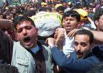 تشييع جثمان قائد كتائب شهداء الأقصى مروان زلوم