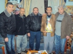 الإخوة في حركة فتح بمنطقة الصبرة برفقة عضو قيادة إقليم شرق غزة الأخ أبو رمزي السنداوي
