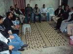 وفد من كتائب شهداء الأقصى – لواء غزة يطمئن على صحة المناضل: خميس البرديني