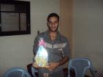 وفد من كتائب شهداء الأقصى – لواء غزة يطمئن على صحة الأخ المناضل/ محمد ياسين