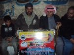 كتائب شهداء الأقصى - لواء غزة تكرم المواطن/ جواد منصور لأمانته