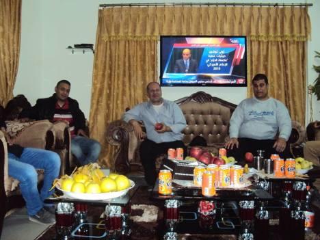 وفد من كتائب شهداء الأقصى - لواء غزة يزور الأخ المناضل/ صالح ساق الله - أبو محمد