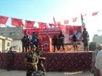 بالصور: وفد قيادي من كتائب شهداء الأقصى - لواء غزة يشارك في إحياء ذكرى إستشهاد يوسف الوصيفي