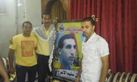 كتائب شهداء الأقصى – لواء غزة تزور أسرة الشهيد: طلال سليم الأعرج