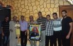 وفد قيادي من كتائب شهداء الأقصى – لواء غزة يزور المناضل: نايف خويطر