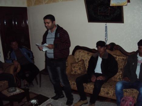 بالصور: كتائب شهداء الأقصى - لواء غزة تزور منزل الشهيد/ فارس فايق عودة في ذكرى إستشهاده