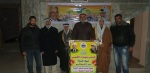 وفد من كتائب شهداء الأقصى - لواء غزة يكرم جمعية مخاتير فلسطين الخيرية  - منطقة شهداء المغراقة