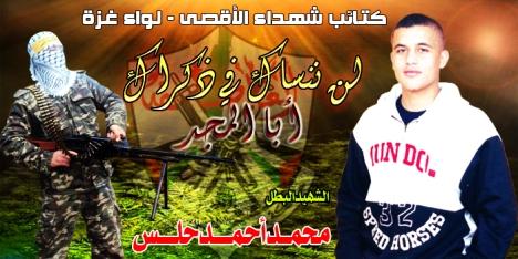 الشهيد محمد احمد حلس