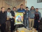 وفد من كتائب شهداء الأقصى - لواء غزة يهنئ المناضل: سمير عودة بالسلامة والشفاء