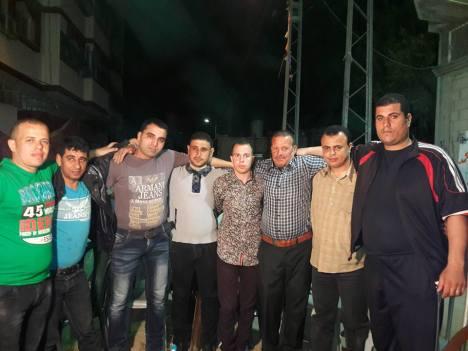 كتائب شهداء الأقصى - لواء غزة تشارك إبنها/ سفيان عودة فرحة زفافه