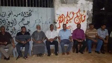 وفد من كتائب شهداء الأقصى - لواء غزة يزور أسرة الشهيدحاتم أبو سالم