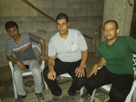 وفد من كتائب شهداء الأقصى – لواء غزة يزور المناضل: أحمد سلمي