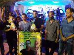 وفد من كتائب الأقصى - لواء غزة يبارك لعائلة غزال زفاف إبنهم: عبد المجيد غزال