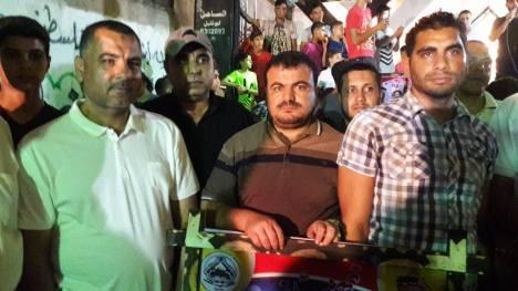 كتائب الأقصى - لواء غزة تبارك للمناضل: محمد شاهين زفافه