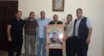 وفد من كتائب الأقصى - لواء غزة يزور المناضل: إياد الجمل