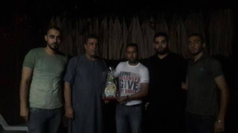 كتائب الأقصى – لواء غزة تزور الأسير المحرر: فايز شهوان