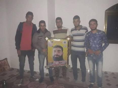 كتائب الأقصى - لواء غزة في بيت حانون تزور أسرة الشهيد عطا الشنباري