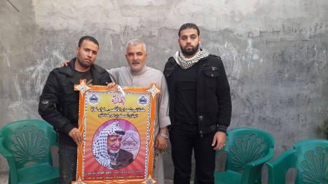 كتائب الأقصى – لواء غزة تكرم الأسير المحرر: وليد جودة