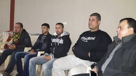 وفد من كتائب الأقصى - لواء غزة يبارك للقائد/ أبو ماهر حلس فوزه بمركزية فتح