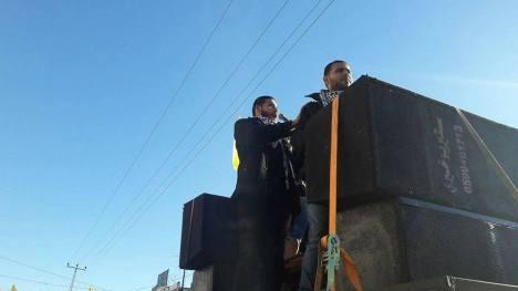 صور انطلاقة فتح ال 52 بالجندي المجهول بغزة